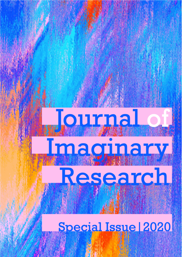The cover of the Journal of Imaginary Research Special Issue 1: May 2020